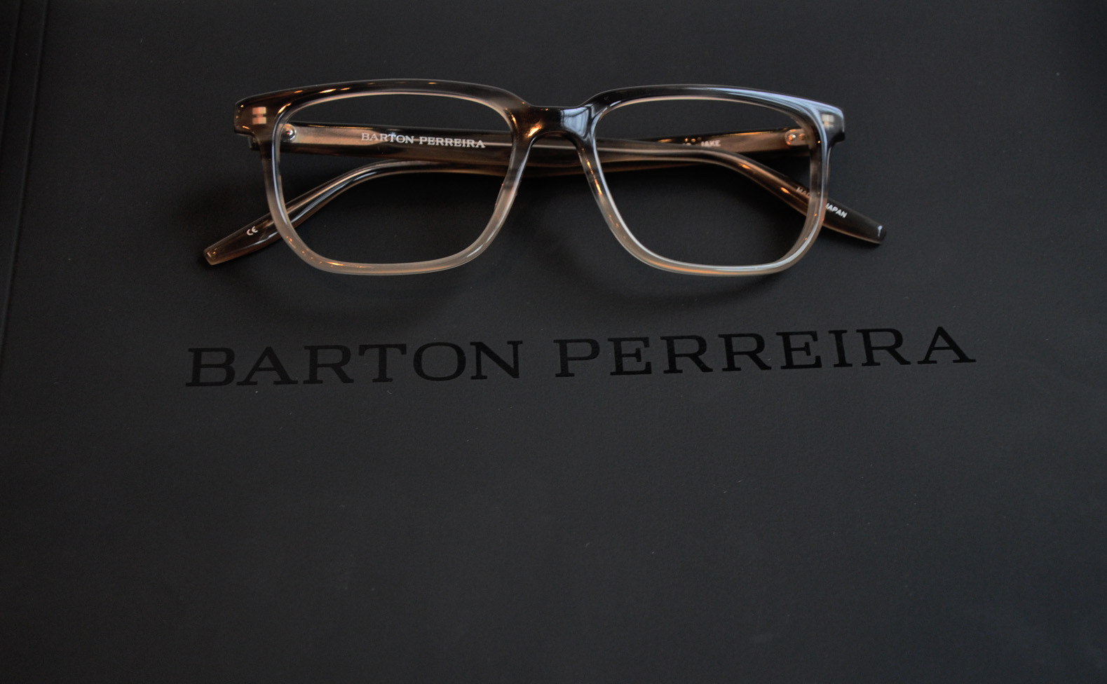 Introducing Barton Perreira Bruce Eyewear