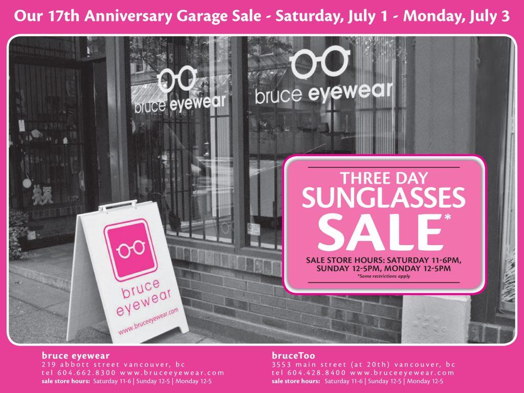 bruce anniversary sale